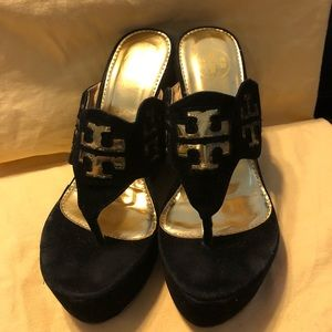 Tory Burch mule wedges